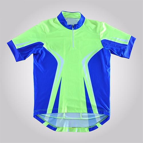 China Custom Sublimation Man Woman Cycling Jersey