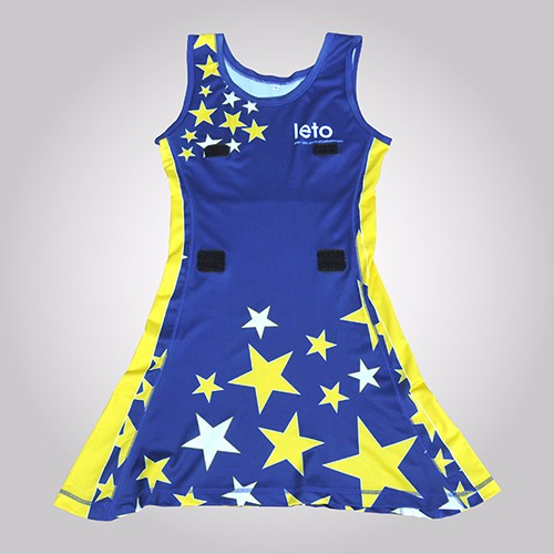 OEM Service High Quality Netball Uniforms