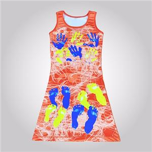 Sublimation Printting Netball Dress