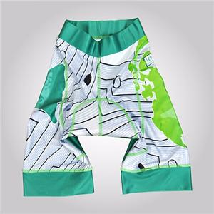 Customized Kid White High Quality Bib Shorts Set