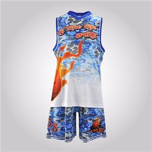 Your Own Latest Jersey Color Blue College Customize Basketball Uniform Design Template