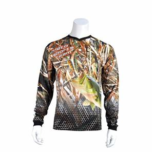 Outdoor Fishing T Shirt Breathable Fishing Clothes Anti-Uv Long Sleeve Fishing