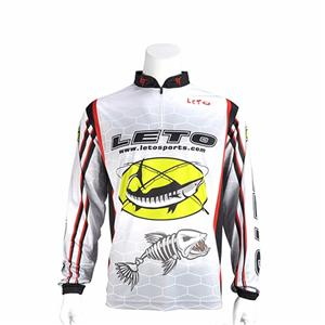 Fishing Clothing Sun Protection Fishing Shirts Anti-UV Fishing Competition Clothes Long Sleeve(
