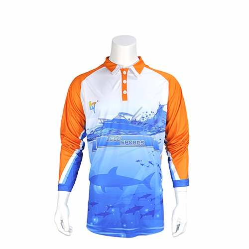 2018 New Fishing Clothing UV Protection Moisture Wicking Breathable Long Sleeve Fishing Shirt