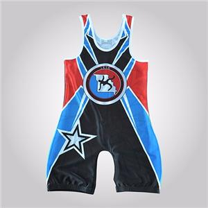 Usa Kid Singlet Wrestling