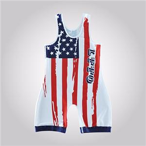 Custom Pro Canada International Wrestling Singlet