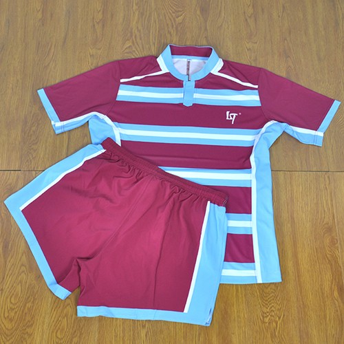 Custom Dye Sublimation Printing Rugby Jersey
