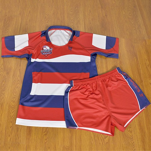 Sublimation Quick Dry Rugby Jersey & Shorts