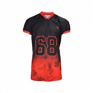 100% Polyester Wear Uniform American Football Jersey