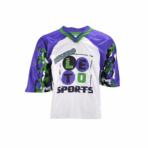 Custom High Quality Game Practice V Neck Lacrosse Jersey