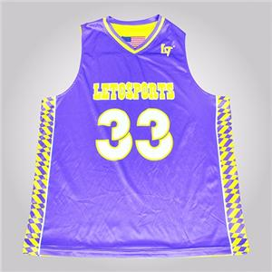 Girl Blue Purple Yellow Usa New Style Basketball Jersey Uniform Design