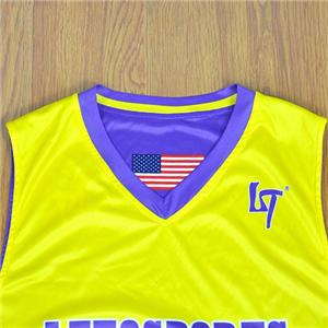 Girl Blue Purple Yellow Usa New Style Basketball Jersey Uniform Design Manufacturers, Girl Blue Purple Yellow Usa New Style Basketball Jersey Uniform Design Factory, Supply Girl Blue Purple Yellow Usa New Style Basketball Jersey Uniform Design
