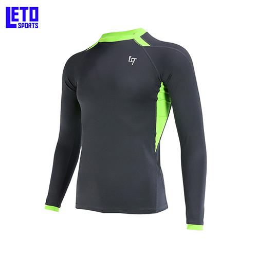 Rashguard Sun-Protective Sports Shirt Surf Top Man Diving Swim Suit (China)