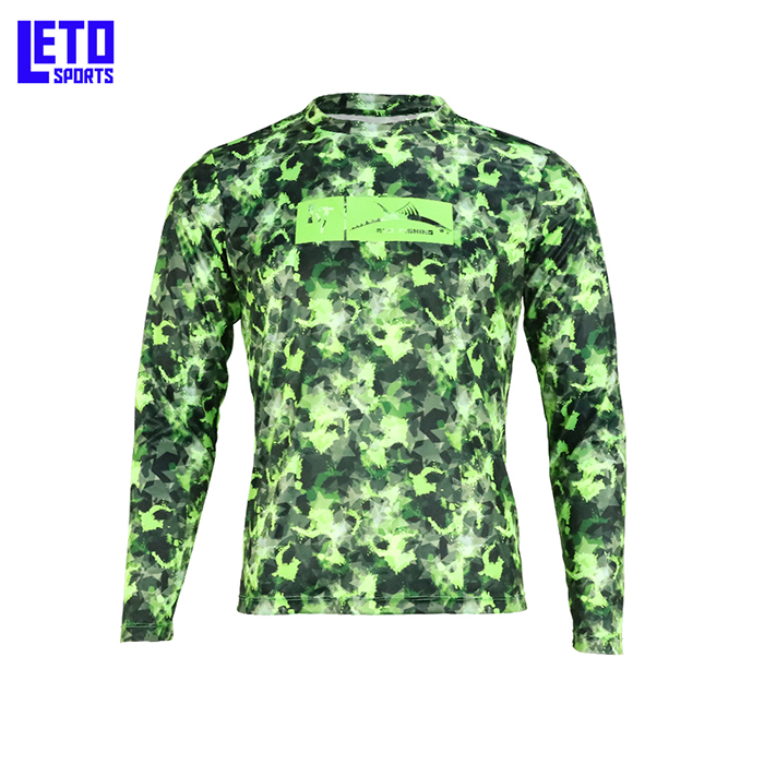 Long Sleeve Fishing T-Shirt for Men and Women