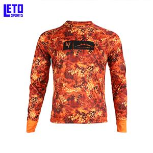 Wholesale Quick Dry Custom Men Tournament Fishing Shirt