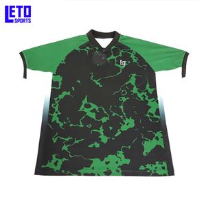 Bowling Fabric T Wholesale 100% Polyester Polo Shirt