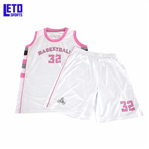 Basketball uniforms set woman in basketball wear