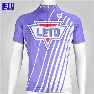 China Custom Sublimation Man Woman Cycling Jersey