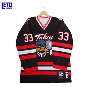 Custom Sublimation Ice Hockey Jersey Wholesale