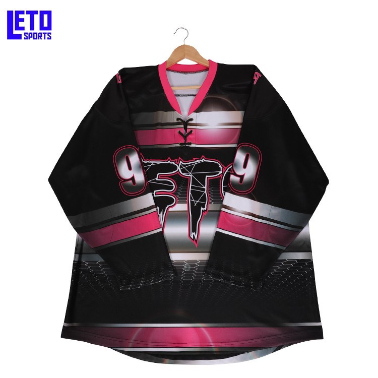 Custom Sublimation Goalie Blank Ice Hockey Jersey