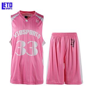 2018 Name And Logo Set Woman Basketball Uniform
