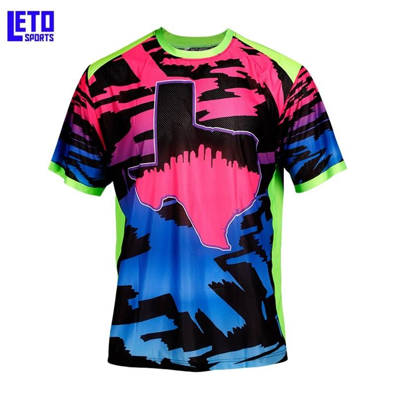 Fashionable Plain Shirt Custom Sublimated Baseball Jersey
