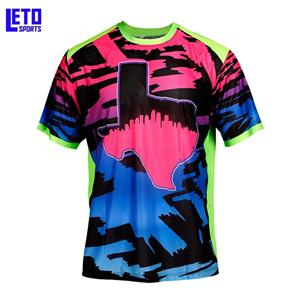 Fashionable Plain Shirt Custom Sublimated Baseball Jersey