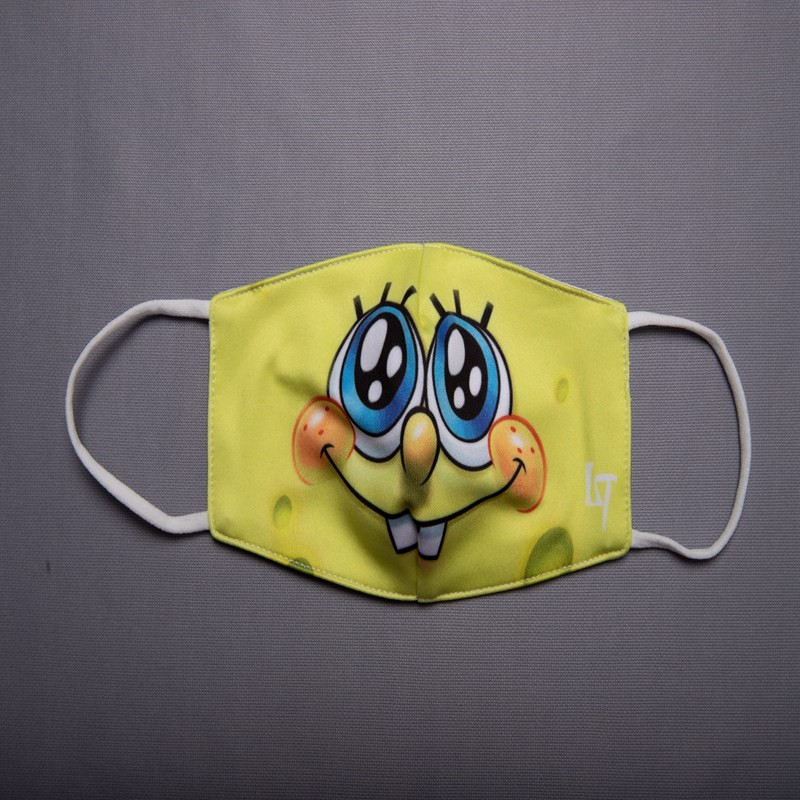Printed Kids Face Mask 3ply Children Washable Replaceable Filter Earloop Custom Face Mask