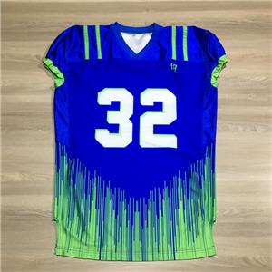 100% Polyester Wear Uniform American Football Jersey