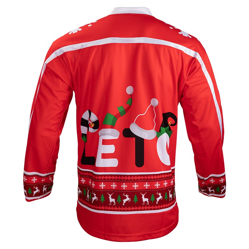 Custom Sublimated Team Ice Hockey Jerseys Team Christmas Hockey Uniforms Made in China Manufacturers, Custom Sublimated Team Ice Hockey Jerseys Team Christmas Hockey Uniforms Made in China Factory, Supply Custom Sublimated Team Ice Hockey Jerseys Team Christmas Hockey Uniforms Made in China