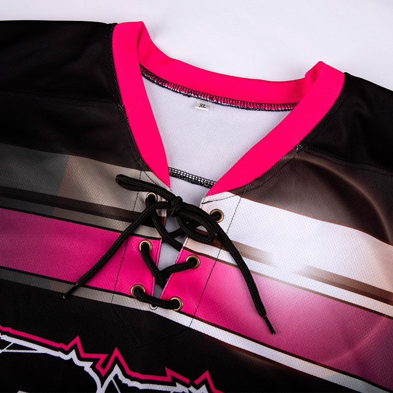 Custom Sublimation Goalie Blank Ice Hockey Jersey Lace Up Collar Manufacturers, Custom Sublimation Goalie Blank Ice Hockey Jersey Lace Up Collar Factory, Supply Custom Sublimation Goalie Blank Ice Hockey Jersey Lace Up Collar