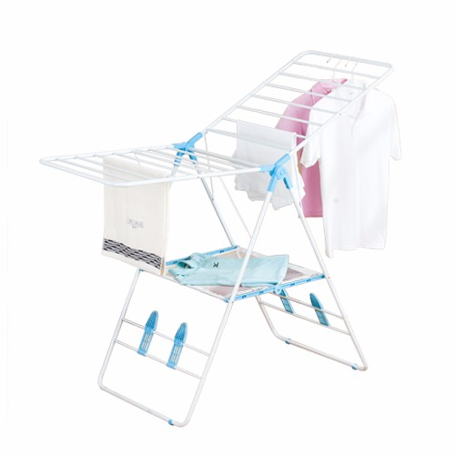 Foldable Powder Coating Clothes Drying Racks