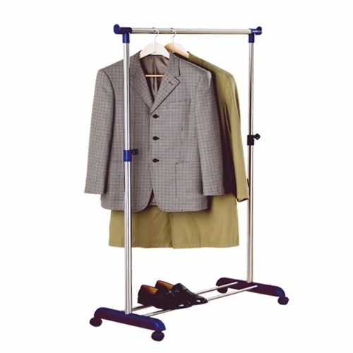 Stainless Steel Single Pole Clothes Racks