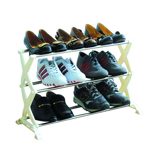3 Tier Stainless Steel Shoes Racks