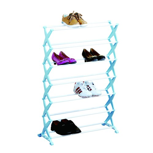 7 Tier Power Coating Shoes Racks