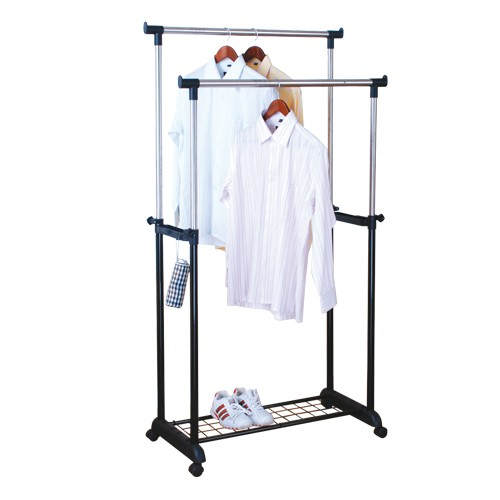 Hot Sale Double Pole Clothes Racks