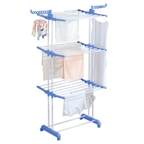 3 Tier Powder Coating Clothes Hanger