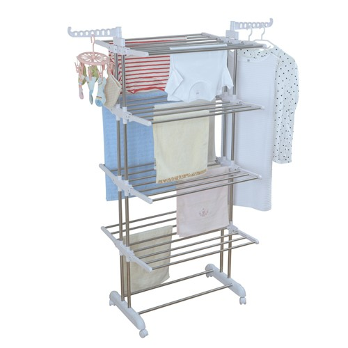 4 Layer Stainless Steel Clothes Hanger