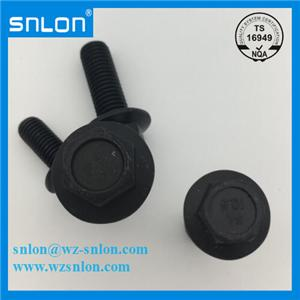 Hexagon Flange Bolt Grade 10.9 Black Oxide