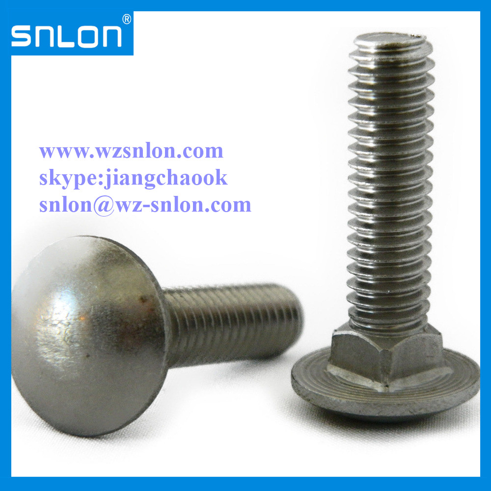 Cap Head Square Neck Carriage Bolt