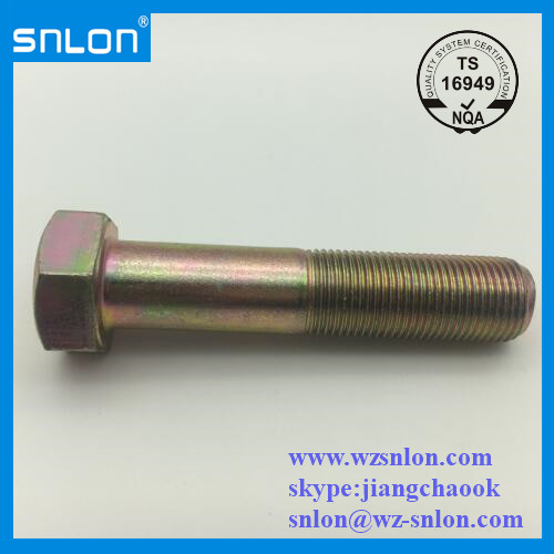 Hex Bolt Fine Thread Gr10.9 Din931