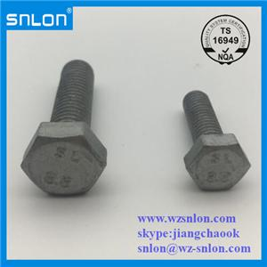 Hex Bolt Dacromet Coating 8.8 Grade