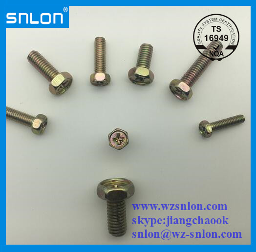 Phillip Concave Hex Head Screw Bolt Manufacturers, Phillip Concave Hex Head Screw Bolt Factory, Supply Phillip Concave Hex Head Screw Bolt