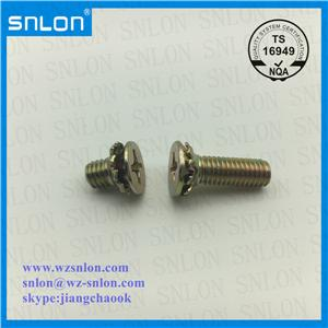 Flat Head Phillip Combination Screw Yzp