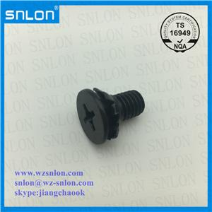 Phillip Flat Head Combination Screw Black Finishing