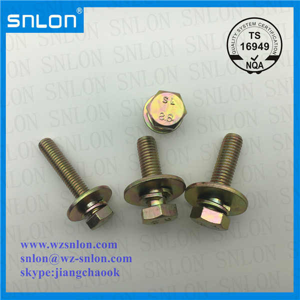 Hex Head Combination Screw With Big Washer Yzp Manufacturers, Hex Head Combination Screw With Big Washer Yzp Factory, Supply Hex Head Combination Screw With Big Washer Yzp