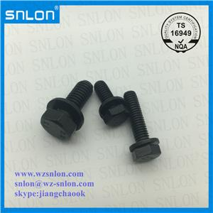 Black Oxide Combination Screw