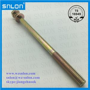 Long Thread Combination Screw Fine Thread