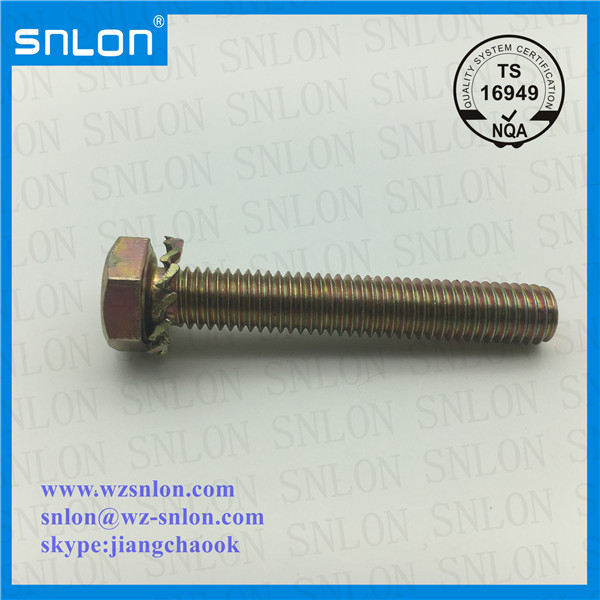 Hex Screw With External Tooth Lock Washer Manufacturers, Hex Screw With External Tooth Lock Washer Factory, Supply Hex Screw With External Tooth Lock Washer