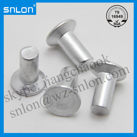 Countersunk Head Solid Rivet Manufacturers, Countersunk Head Solid Rivet Factory, Supply Countersunk Head Solid Rivet